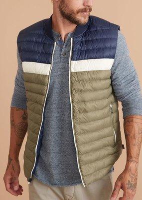 Marine Layer Vail Reversible Puffer Vest