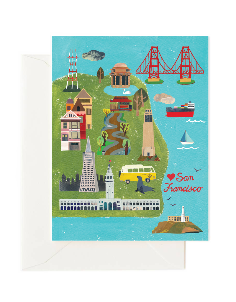 Greetings From SF Card