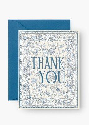 Delft Thank You Card