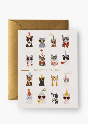 Cool Cats Birthday Card