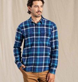 Toad & Co. M's Indigo Flannel LS Shirt