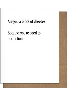 Block Of Cheese Card