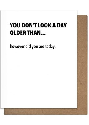 However Old Greeting Card