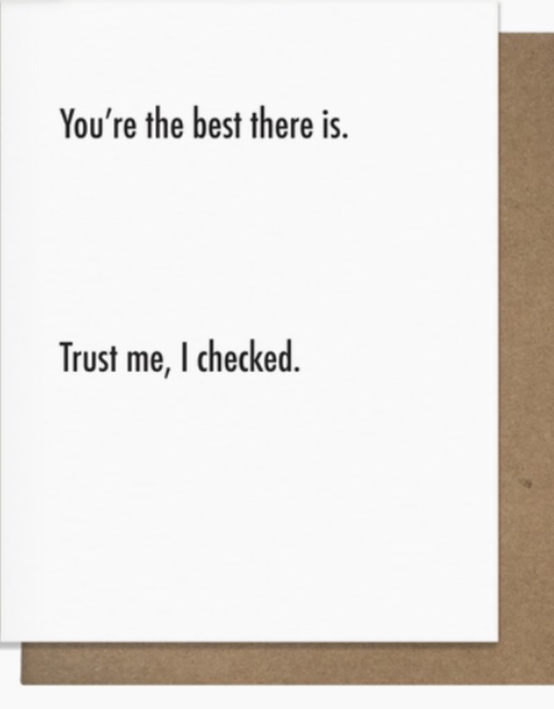 Best There Is Greeting Card