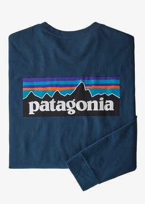 Patagoina M's Long-Sleeved P-5 Logo Responsibili-Tee