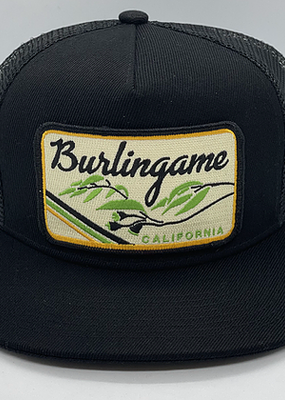 Venture Burlingame Black Townie Trucker
