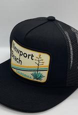 Venture Newport Beach Black Townie Trucker