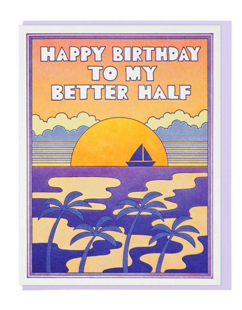 Lucky Horse Press Happy Birthday To My Better Half