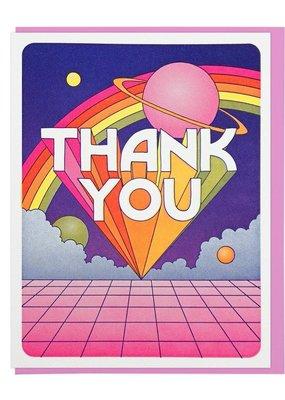 Lucky Horse Press Thank You Universe Card