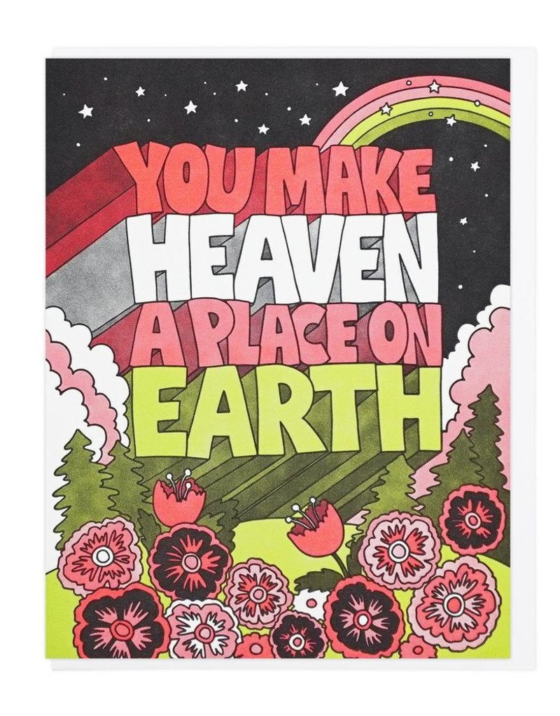 Lucky Horse Press Heaven A Place On Earth Card