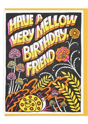 Lucky Horse Press Mellow Friend Birthday