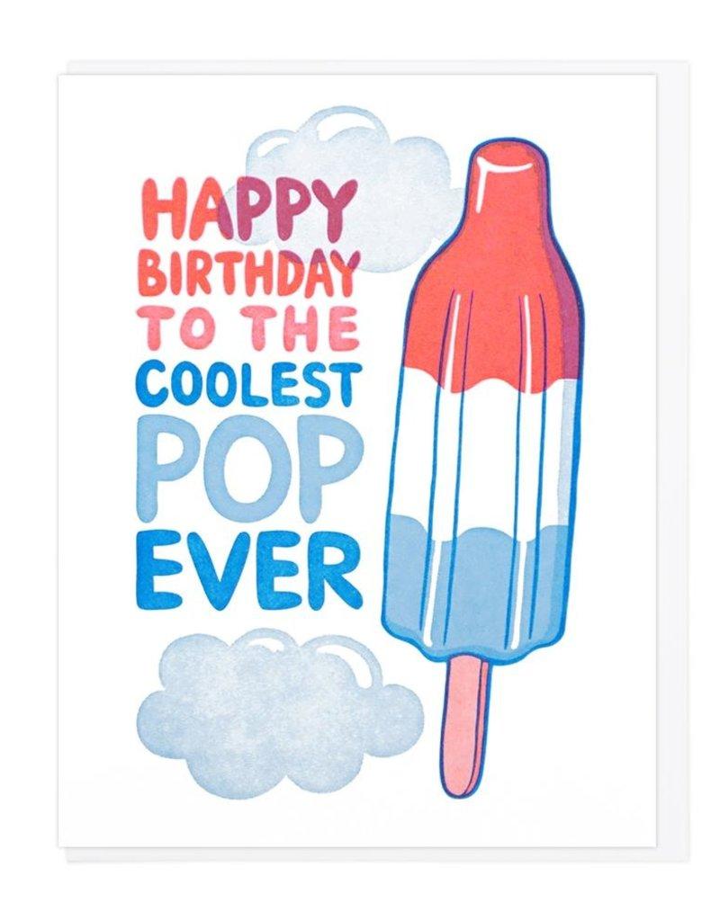 Lucky Horse Press Happy Birthday Coolest Pop