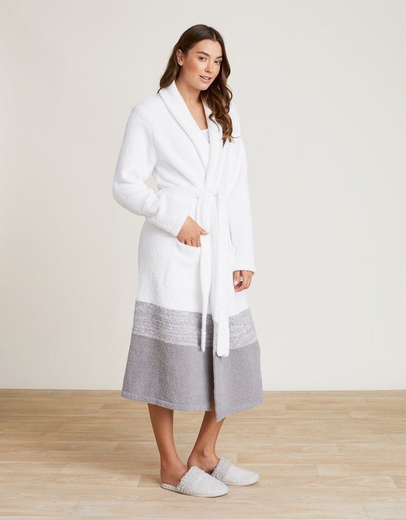 Barefoot Dreams Heathered Stripe Robe