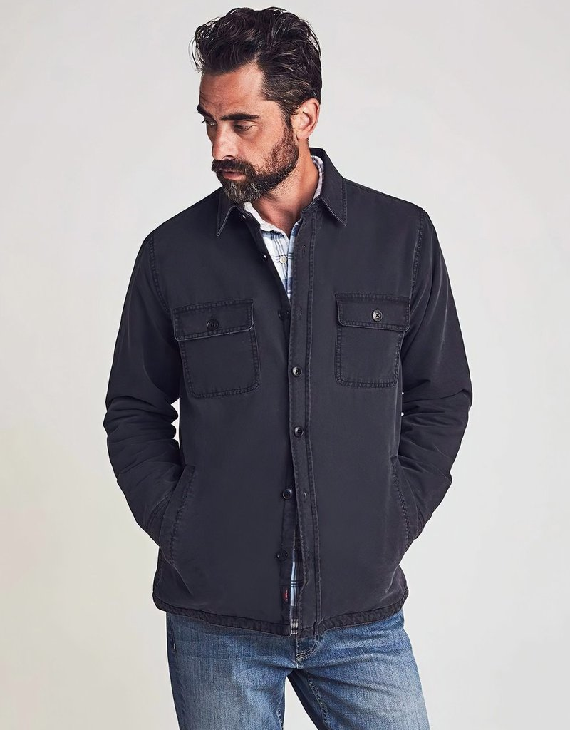 Faherty Stretch Blanket Lined CPO