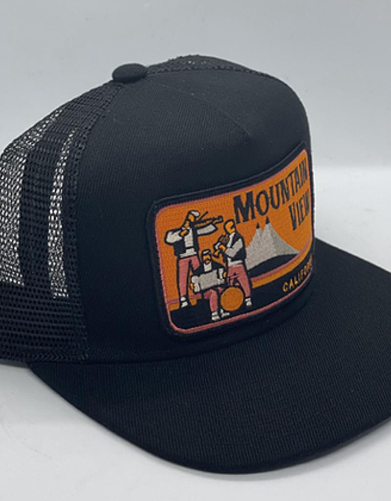 Venture Mountain View Orange Patch Townie Trucker
