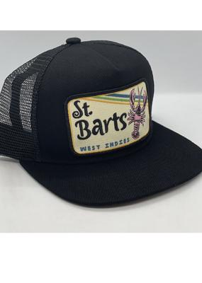 Venture St. Barts Black Townie Trucker