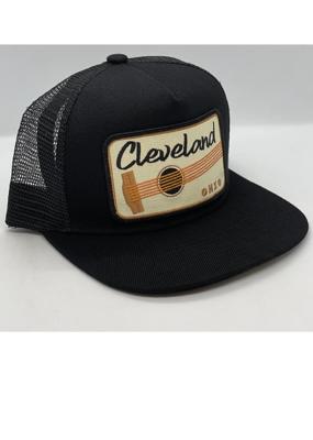 Venture Cleveland Black Townie Trucker