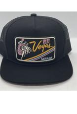Venture Vegas Ladies Black Townie Trucker