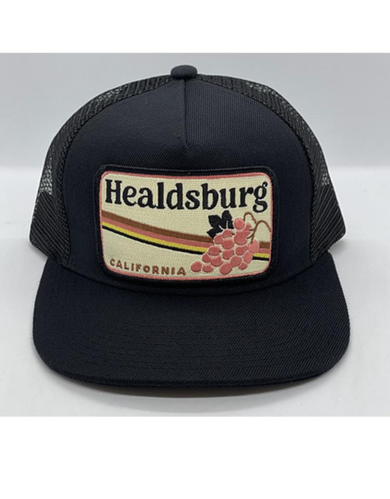 Venture Healdsburg Grape Black Townie Trucker