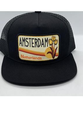 Venture Amsterdam Black Townie Trucker