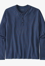 Patagonia M's LS Organic Cotton LW Henley Pullover