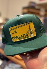 Venture Oakland Sneakers Green Townie Trucker
