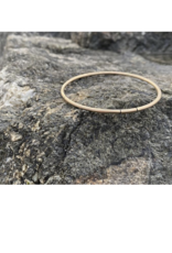 """Colleen Mauer Yellow Gold 2.5mm """"Continual"""" Bracelet"""