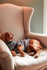 Barbour Case Fair Isle Dog Jumper- Grey