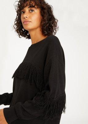 Sanctuary Social Hour Fringe Sweater