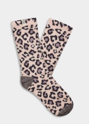 Ugg Lotus Blossom Leopard Socks (OS)