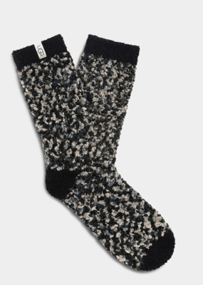 Ugg Cozy Chenille Sock-Black/Grey