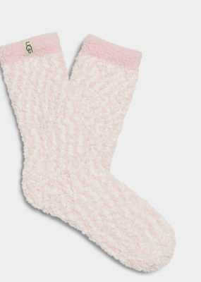 Ugg Cozy Chenille Sock- Sea Shell Pink