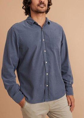 Marine Layer Lightweight Snap Cord Shirt