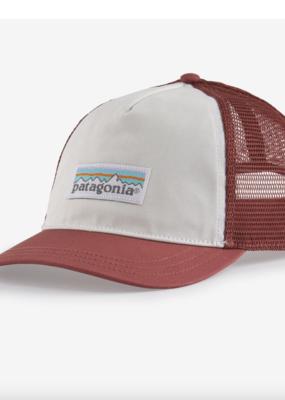 Patagonia Womens Trucker Hat- White/Rosehip
