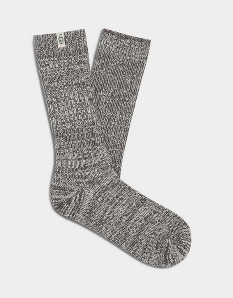 Ugg W's Rib Knit Slouchy Crew Socks