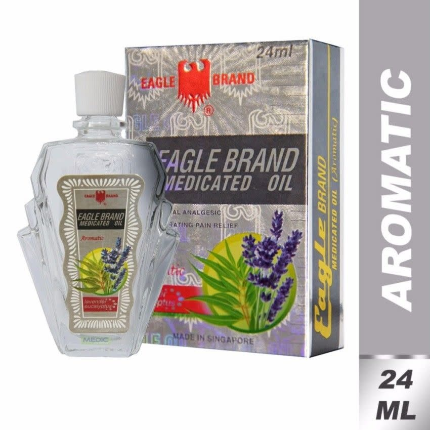 EAGLE DX EAGLE OIL AROMATIC 24ML SINGLE - DẦU TRẮNG HƯƠNG TINH DẦU - HIỆU CON Ó SINGAPORE 24ml