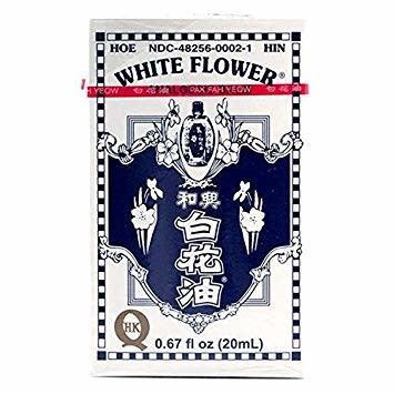 ASIAN BRANDS ECK WHITE FLOWER BALM 20ML - Dầu Nóng Hoa Huệ Trắng 20ml