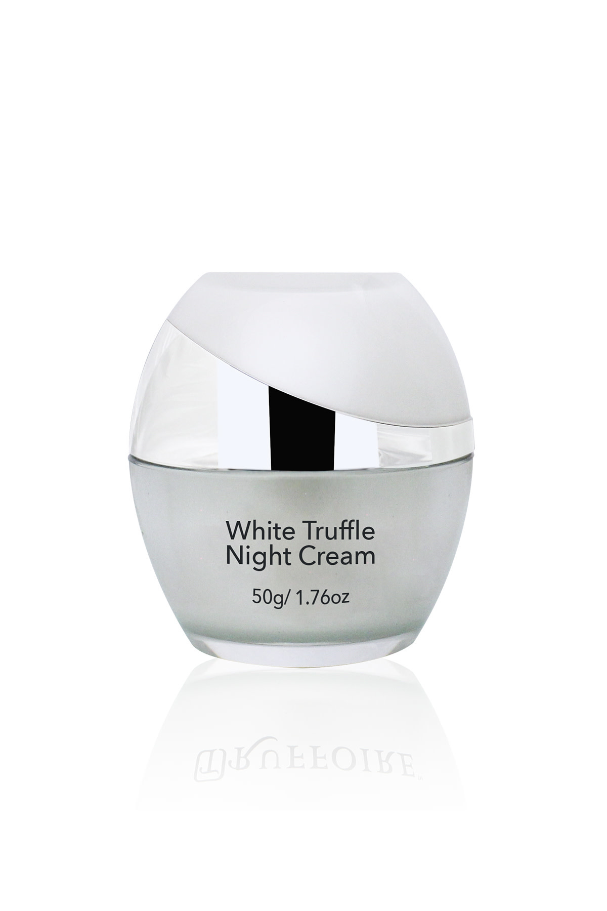 TRUFFOIRE SKINCARE TRUF WHITE TRUFFLE NIGHT CREAM 50GM - KEM DƯỠNG TÁI TẠO DA BAN ĐÊM VỚI NẤM KIM CƯƠNG TRẮNG  50GM