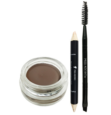 ADORO ADO 3PC BEAUTI-BROW GEL KIT (CHATAIN) - BỘ GEL VẼ LÔNG MÀY (CHATAIN)