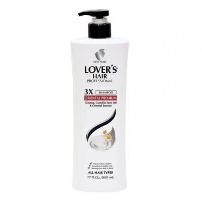 Lover's Care LOV HAIR PROFESSIONAL 3X SHAMPOO 27 OZ - ORIENTAL PREMIUM - DẦU GỘI ĐẦU CHUYÊN NGHIỆP ĐÔNG Y 27 OZ  - LOVER'S HAIR 3X ORIENTAL PREMIUM