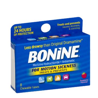 BONINE BONINE MOTION SICKNESS TABLET 16CT - THUỐC CHỐNG SAY SÓNG/ MÁY BAY KHI ĐI DU LỊCH - 16 VIÊN