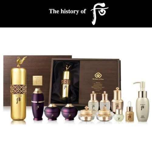 The History of Whoo WH CGD HWANYU SIGNATURE GOLD AMPOULE SET - 51104269