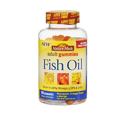 NATURE NM ADULT GUMMIES FISH OIL 90 COUNT