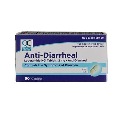 Quality Choice QC ANTI-DIARRHEAL 2MG CAPLET 60CT