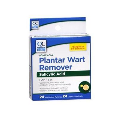 QC QC PLANTAR WART REMOVER 24CT
