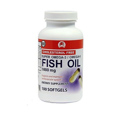VARIED BD FISH OIL GELCAPS 100CT #1033