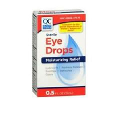 QC QC EYE DROPS TETROHYDROZOLINE 0.5 OZ