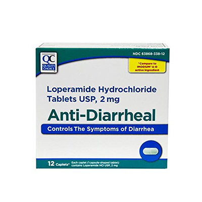 QC QC ANTI-DIARRHEAL LOPERAMIDE 2MG SOFTGEL 12CT