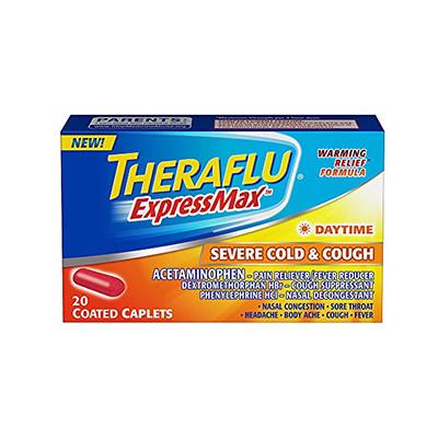 THERAFLU THERAFLU EXPRESSMAX SERVE COLD & COUGH