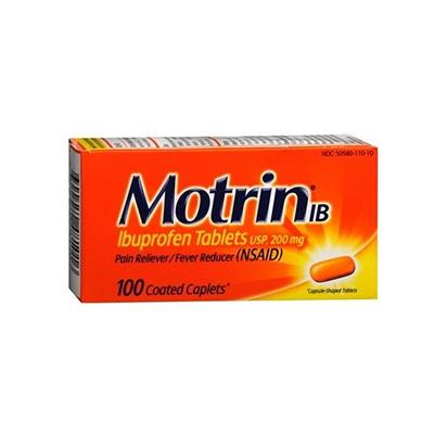 MOTRIN MOTRIN IB CAPLET 100CT